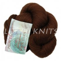 !Cascade Heritage Silk - Vandyke Brown (Color #5639)