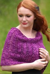 Hilda Wrap - Free Download with Purchase of 3 or More Skeins of Huasco Worsted