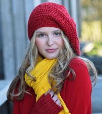 Hildur Hat and Wristlets - A Juniper Moon Stargazer Pattern - FREE WITH PURCHASES OF 2 OR MORE SKEINS OF Stargazer (PDF File)