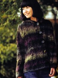 Hooded Jacket (Included in Noro the World of Nature 30)