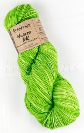 Araucania Huasco DK - Citrus Greens with a Color-on-Color Variation (Color #120)