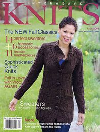 Interweave Knits- 2008 Fall
