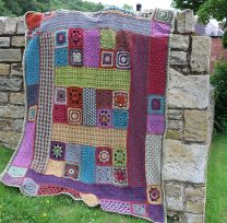 Crochet Blanket - Free Pattern on Rowan Website