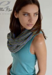 Sierra Infinity Scarf - FREE with Purchases of 4 Skeins of Sun Kissed (Please add to cart to receive)