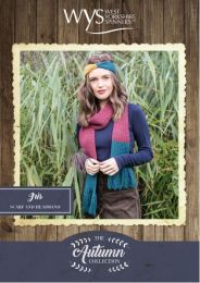 Iris Scarf and Headband - Free with WYS Yarn Purchase (One Free Pattern Per Purchase/Person Please)