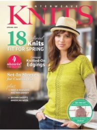 Interweave Knits - Spring 2015 Cover