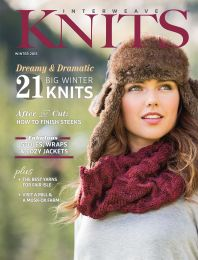 Interweave Knits - Winter 2015 Cover (Fall River Cowl)
