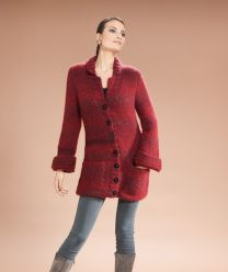 Moments 007 Pattern Book - Ladies Long Jacket - A Diverso Pattern