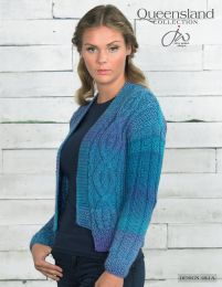 Jacket - Free with Purchase of 6 Skeins of Queensland Brisbane (PDF File)