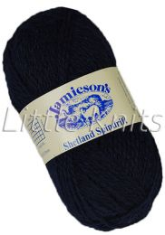 Jamieson's Shetland Spindrift - Dark Navy (Color #730)