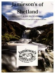 Jamieson's of Shetland - Spindrift And Double Knitting Shadecard