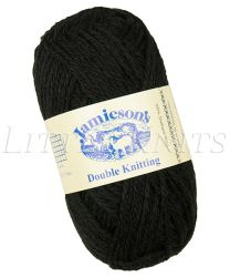 Jamieson's Double Knitting - Black (Color #999)