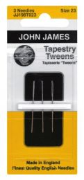 John James Tapestry Tweens Needles - Size #21