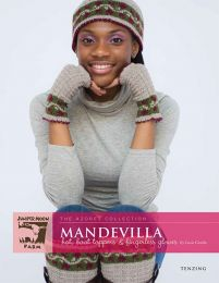 Tenzing - Mandevilla Hat, Boot Toppers & Fingerless Gloves Pattern