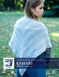 Juniper Moon Farm Moonshine - Kamari Shawl by Kathleen Dames