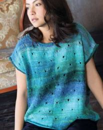 Sleeveless Top With Pockets - Included in Noro Knitting Magazine Issue #10