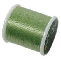 KO Beading Thread - Apple Green (Color #16AG)