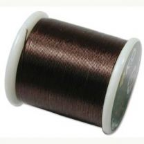 KO Beading Thread - Dark Brown (Color #10BR)
