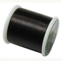 KO Beading Thread - Black (Color #02BK)