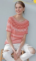 Top Down Shirt - Free pattern for Ombre - LINK TO DOWNLOAD IN DESCRIPTION (No Need to Add to Cart)
