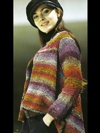 Ladies Swing Jacket (Included in Noro the World of Nature 28)