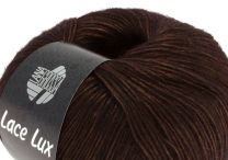 Lana Grossa Lace Lux - Midnight Chocolate Run (Color #047)