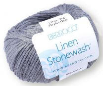 Berroco Linen Stonewash - Granite (Color #7306)