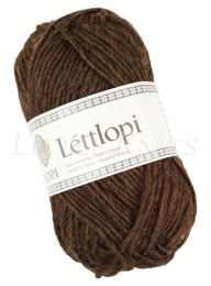Lite Lopi (Lopi Lettlopi) -  Chocolate Heather (Color #0867)