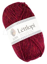 Lite Lopi (Lopi Lettlopi) - Garnet Red Heather (Color #1409)