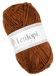 Lite Lopi (Lopi Lettlopi) - Rust Heather (Color #9427)