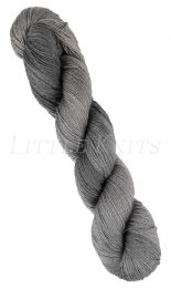 Little Knits Posh Hand Dyed - Silver & Smoke (Color #03)