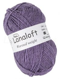 Lanaloft Worsted - Periwinkle Heather