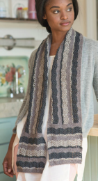 Longbourn: Included in Berroco Skye Pattern Book #398 - Free With Purchase of 3 Skeins of Skye