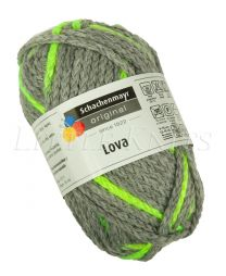 Schachenmayr Lova - Grey Yellow Spot (Color #80) 50 Grams