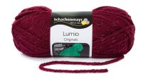 Schachenmayr Lumio - Burgundy (Color #32) 150 Grams