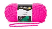 Schachenmayr Lumio - Neon Pink (Color #35) 150 Grams