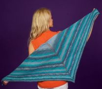 Lydia Shawl - FREE with Purchases of 2 or More Skeins of Sunshine Coast/Please add to cart for a PDF copy