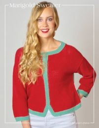 Marigold Sweater (Free Download with purchase of 5 or more skeins of Hempathy)