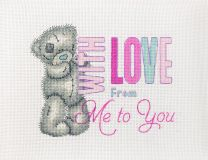 Anchor Counted Cross Stitch Kit - Me to You With Love