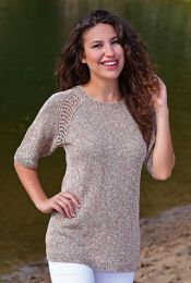 Melissa - A Juniper Moon Pollock Pattern - FREE WITH PURCHASES OF 3 SKEINS OF Pollock (PDF File)