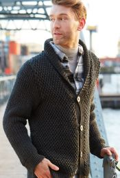 Pattern Men's Pullover - Included in Schachenmayr Magazine 019