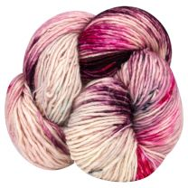 Mineville Wool Merino Single Ply DK - Raspberry Swirl (Color #13)