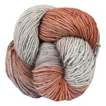 Mineville Wool Merino Single Ply DK - Smokey Ember (Color #52)