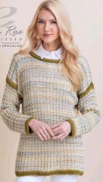 Mirabella Pullover - FREE with Purchases of 6 Skeins of Sun Kissed (Please add to cart to receive)