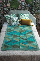 Mitered Blanket - Free with Purchases of 14 Skeins of Noro SIlk Garden (Pdf File)