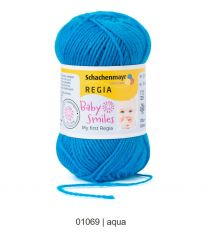 Baby Smiles My first Regia - Aqua (Color #1069) - 25 Gram Skeins