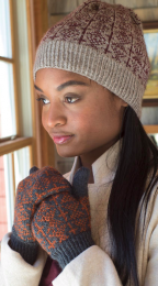 Netherfield: Included in Berroco Skye Pattern Book #398 - Free With Purchase of 4 Skeins of Skye