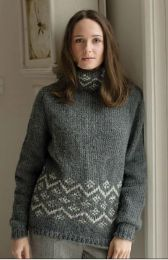 Nieve - Included in the Rowan Timeless Cocoon Pattern Booklet