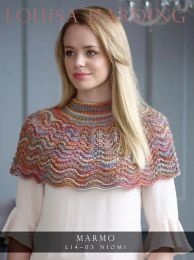 A Mazzo Pattern - Niomi Cape FREE with Purchases of 3 or more skeins of Mazzo (One Pattern for each 5 Skein Purchase Please)