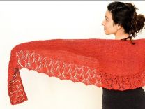 Nobadeer Crescent Scarf/Shawl - Free with purchases of 2 or More skeins of Mana (PDF File)